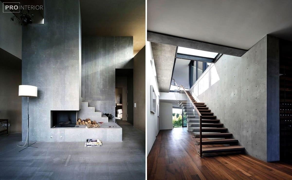 стіни з бетону