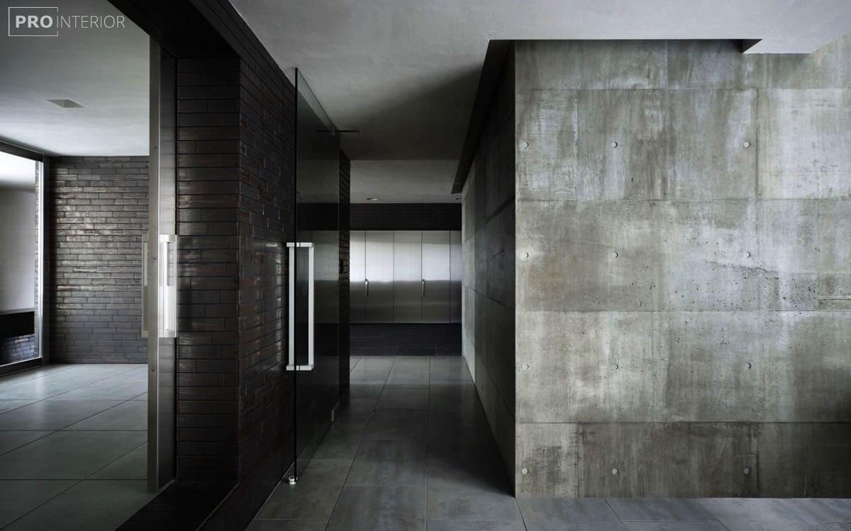 інтер'єр з бетону