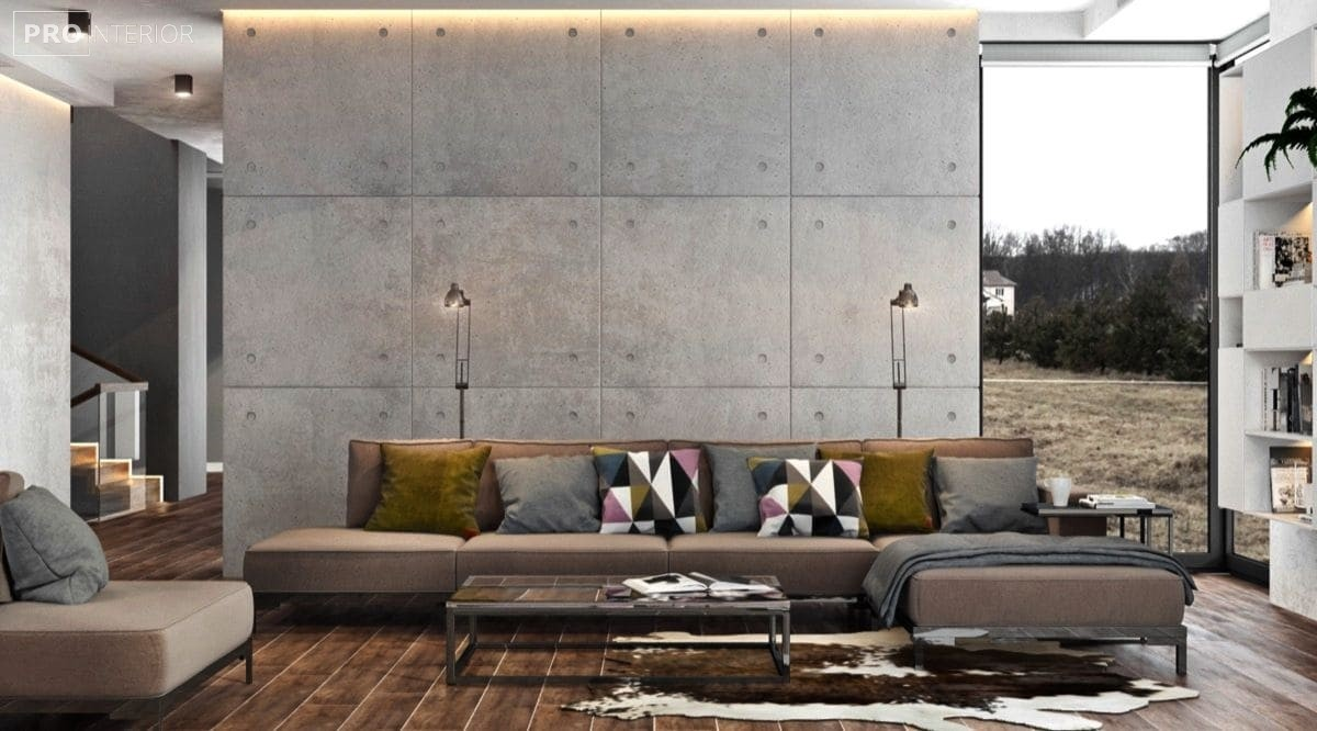 декоративний бетон в квартирі