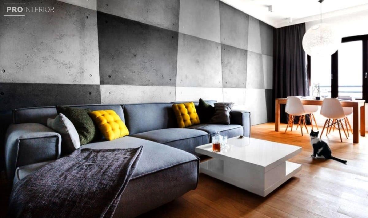 голі бетонні стіни