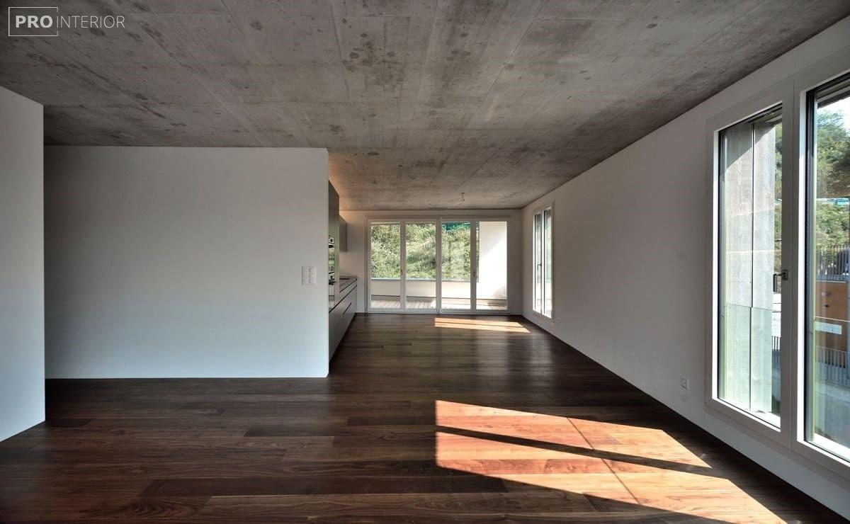 бетонні стіни і стелі