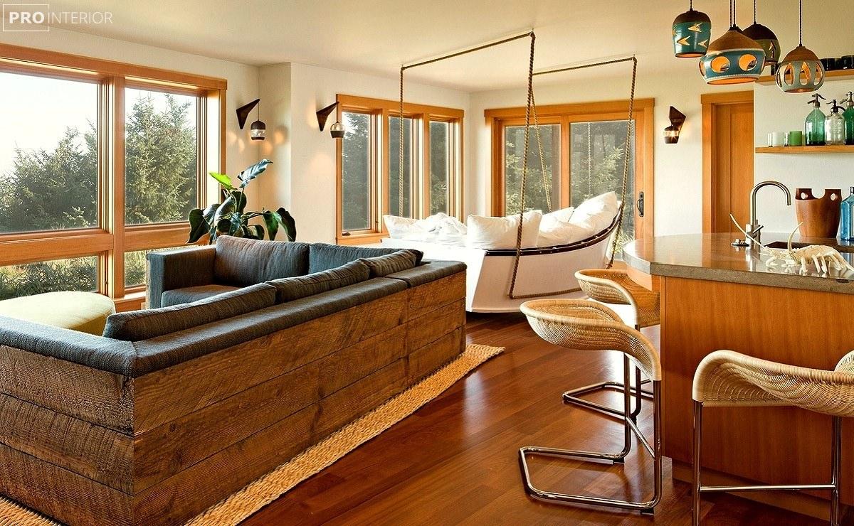 eco style in the interior