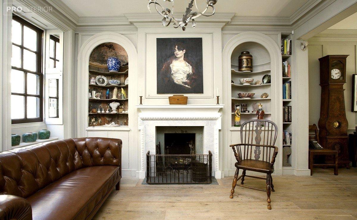 interior in English style photo