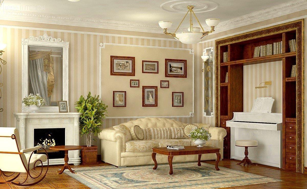 English style interior photo