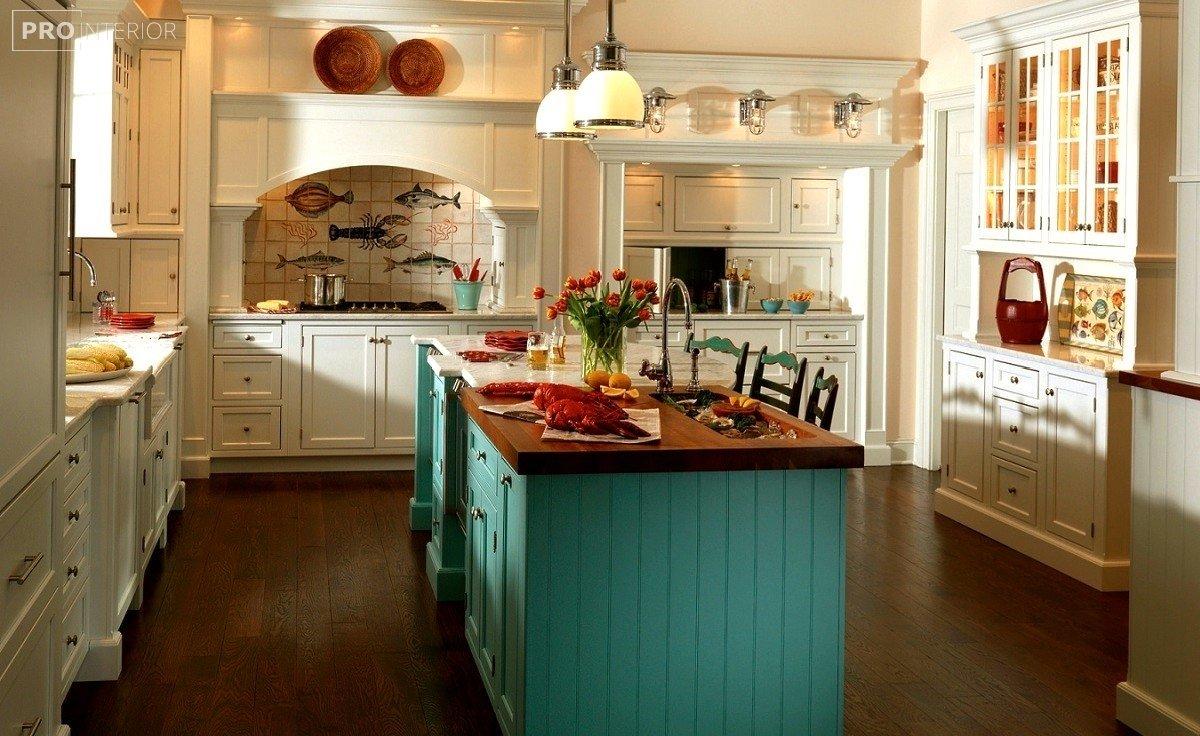английский стиль в кухне фото