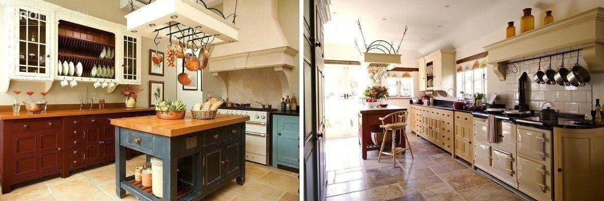 English style in kitchen