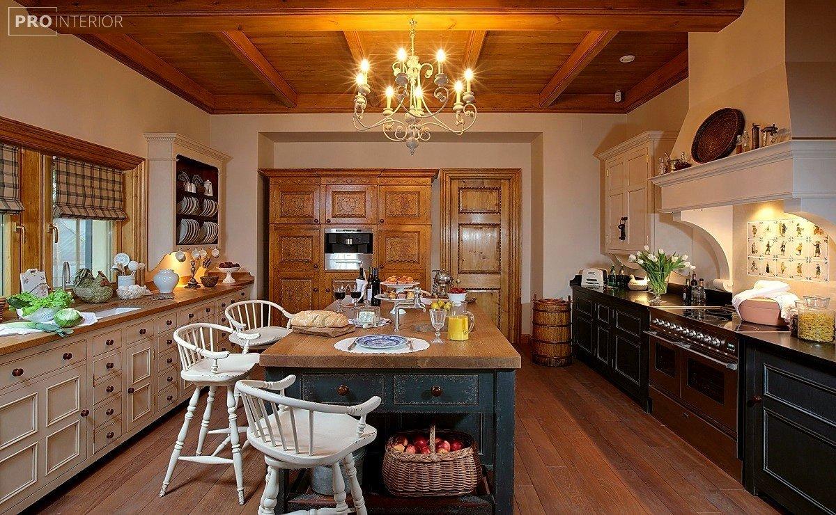 English kitchen style