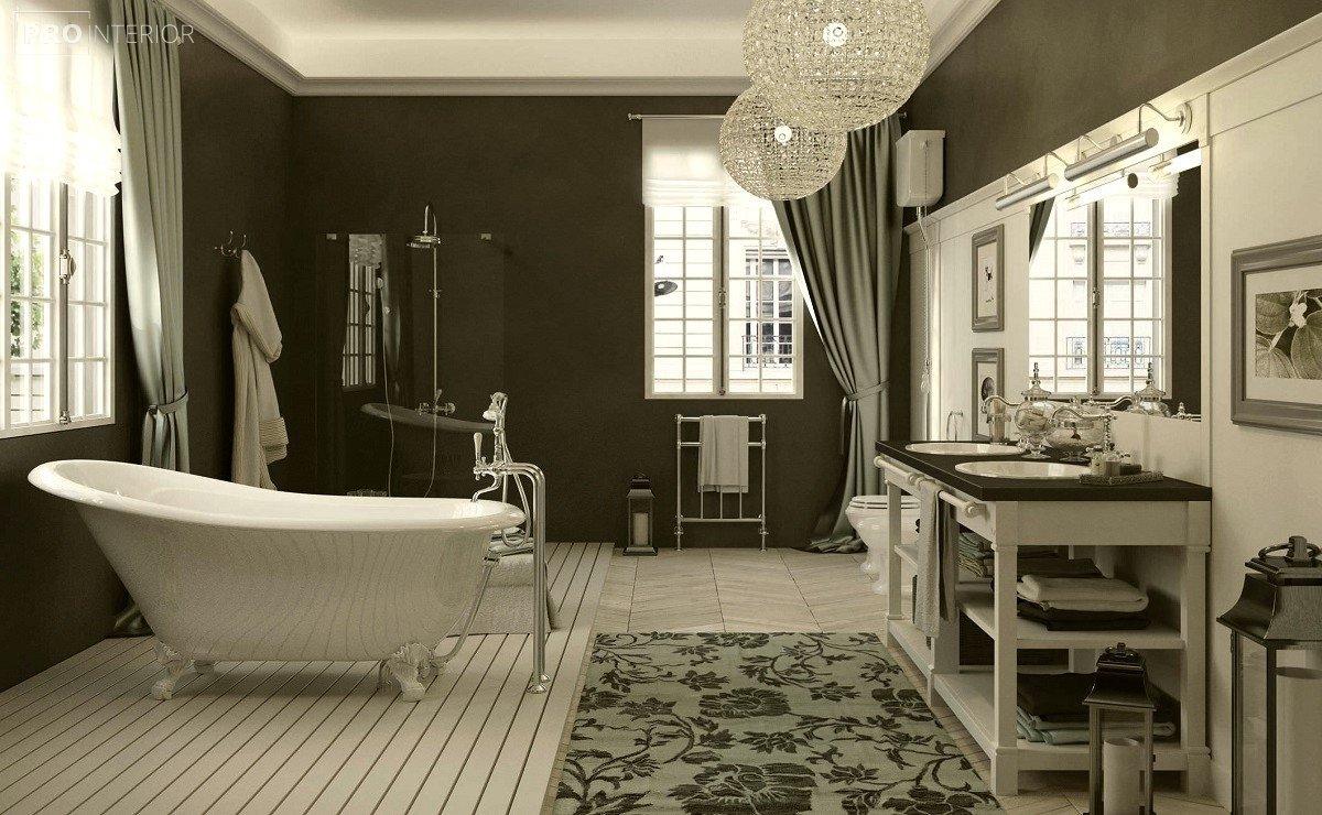 ванная в английском стиле фото