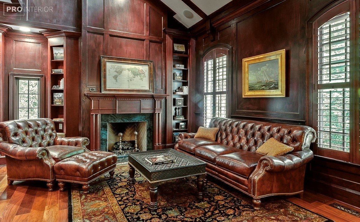 English-style interior