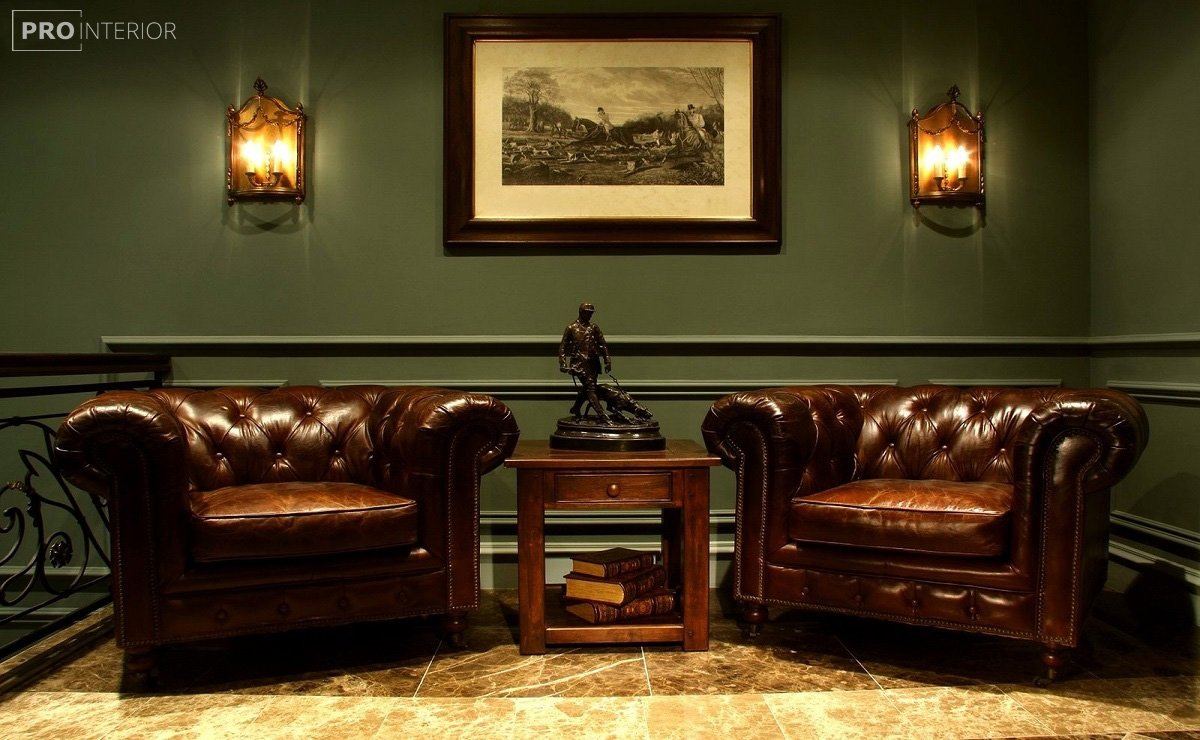 диван в английском стиле