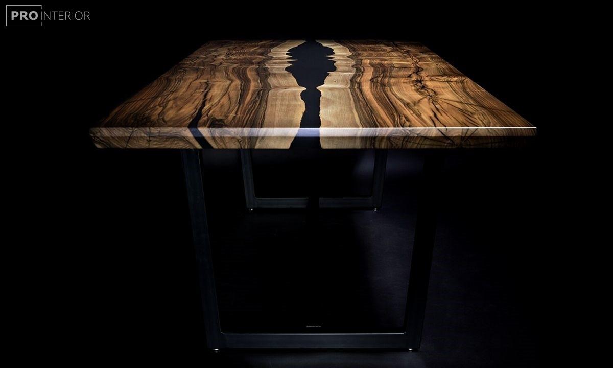 стол из эпоксидки