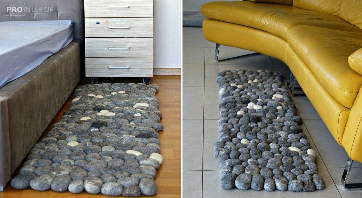 камені з повсті