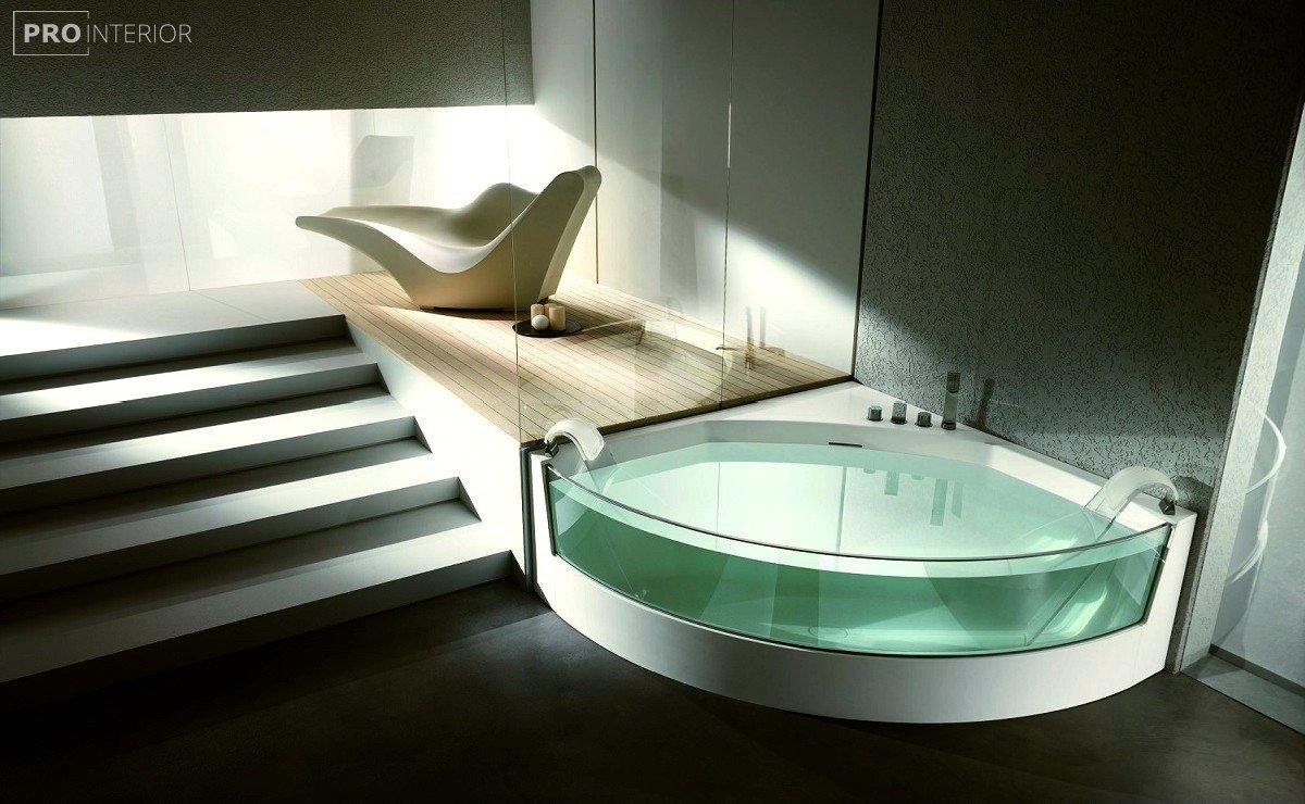 стеклянная мебель в интерьере фото