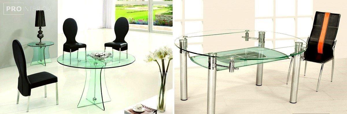 мебель стеклянная мебель