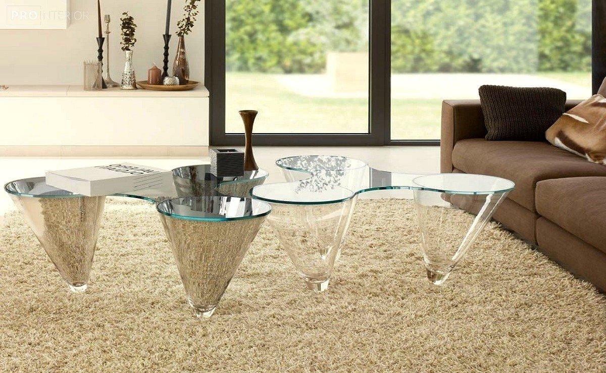 интерьер мебель из стекла фото