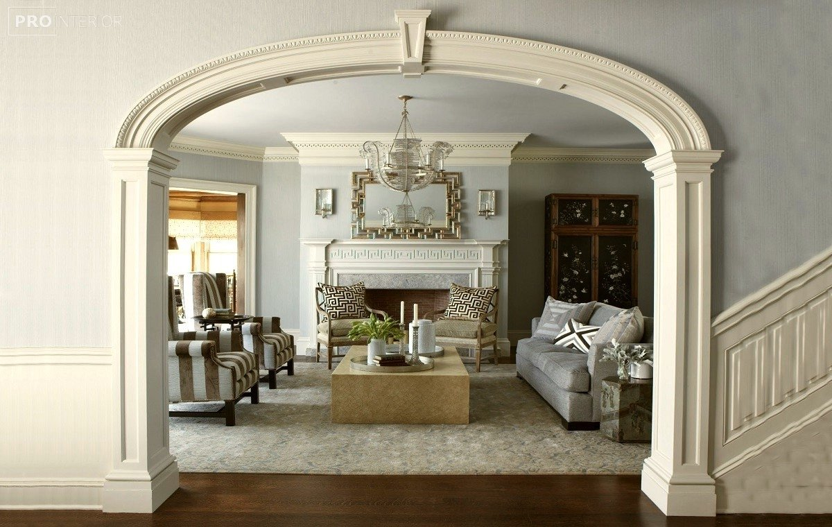 interior design in Greek style photo