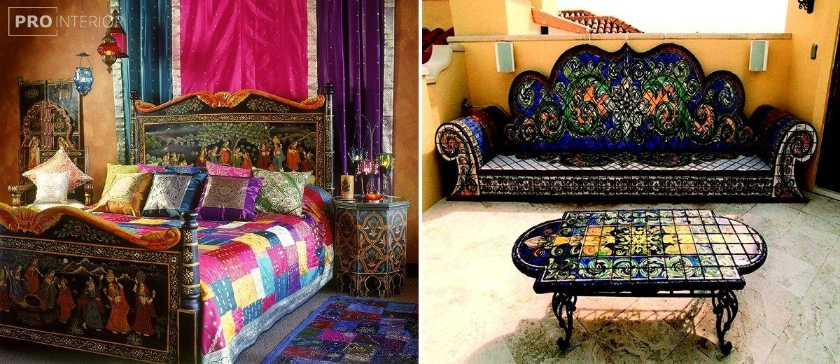 Indian style in the interior