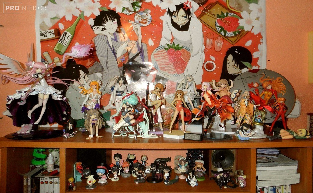 manga style in the interior