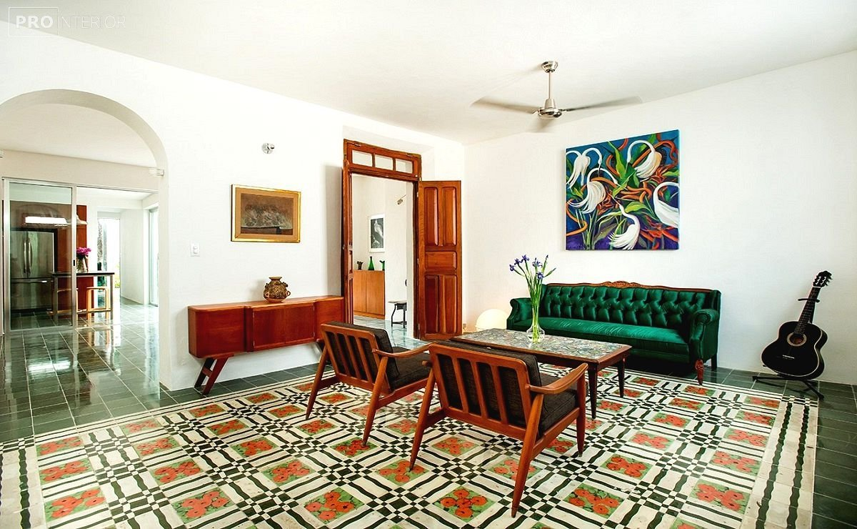 Mexican-style room interior