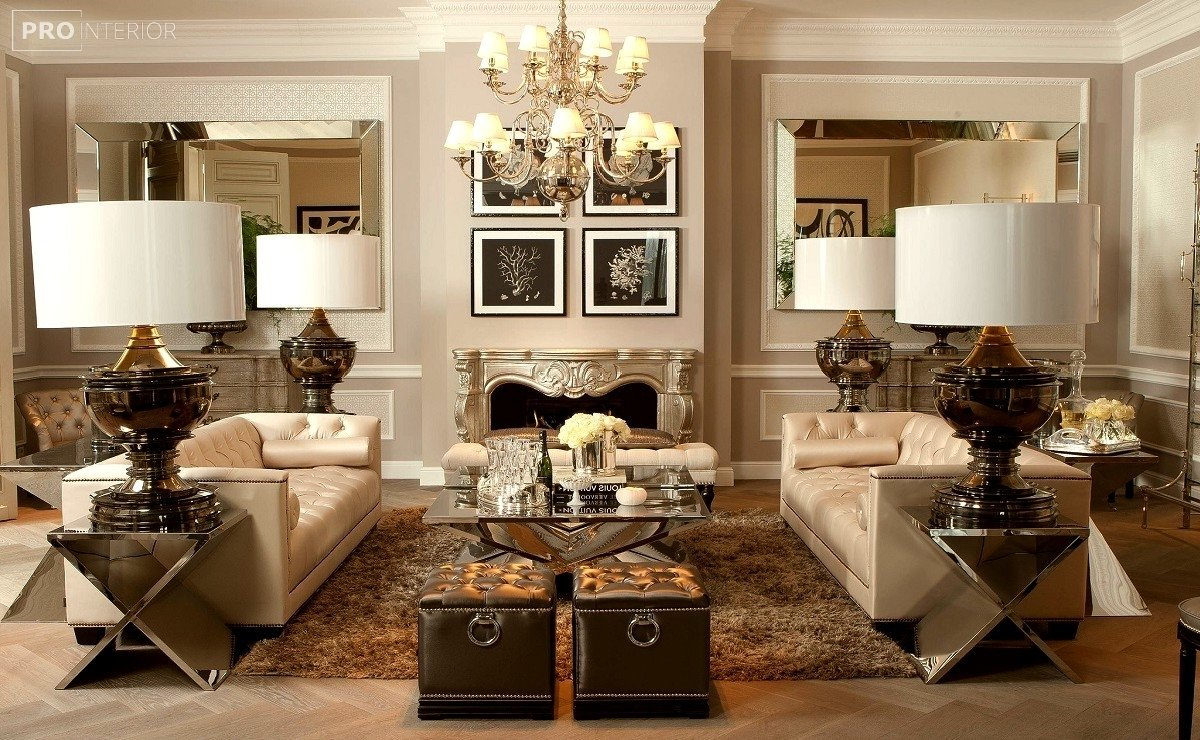 neoclassical style in the interior