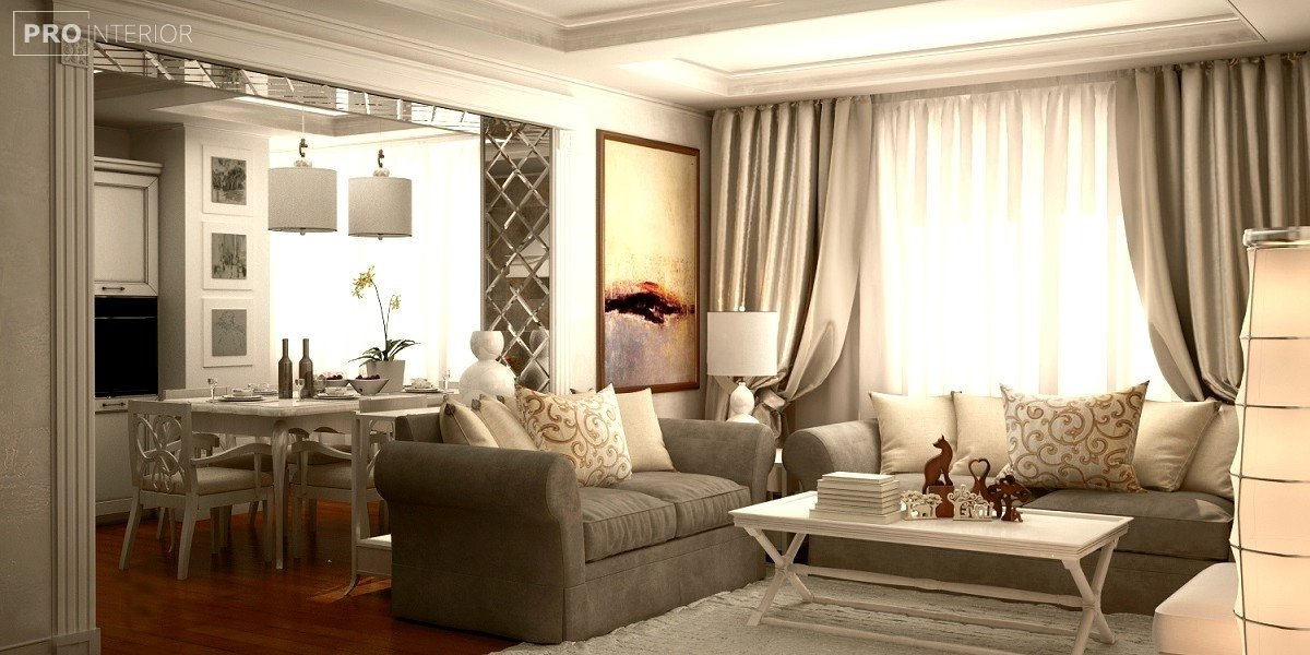 neoclassical style in interior photo