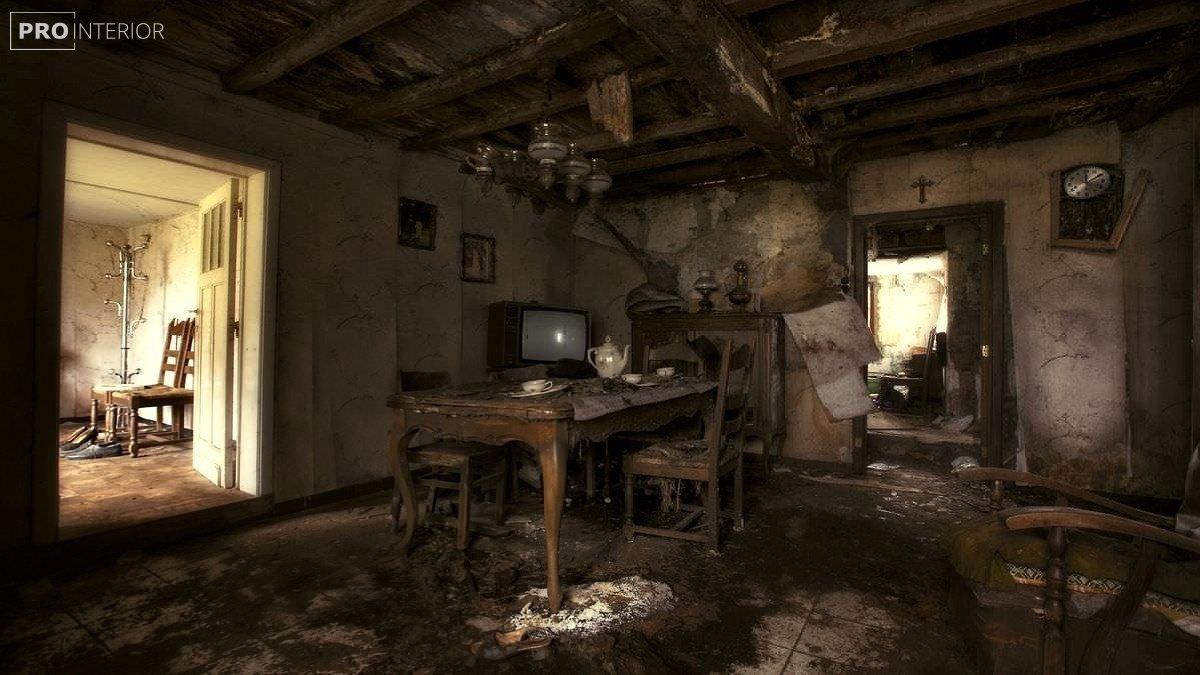 покинутий будинок