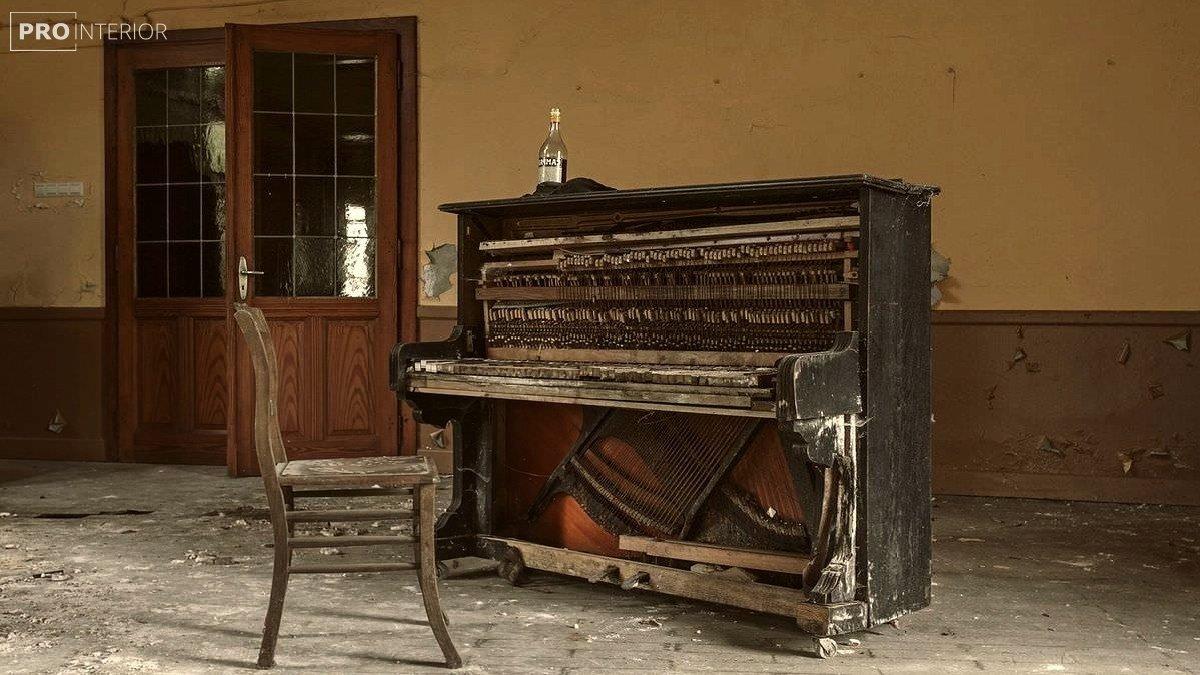 інтер'єр в стилі старого будинку