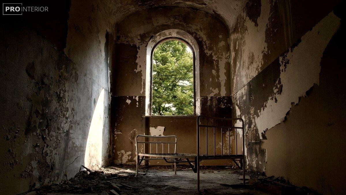 інтер'єр в стилі старовинного будинку