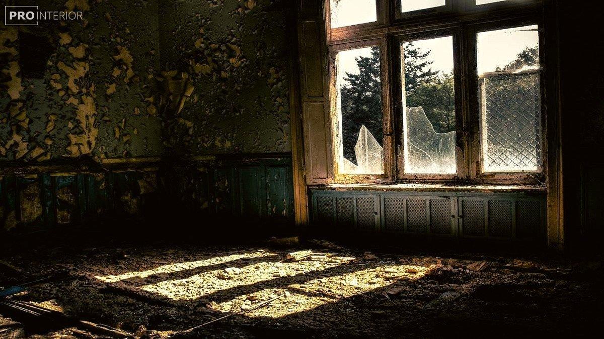 фото покинутої будівлі