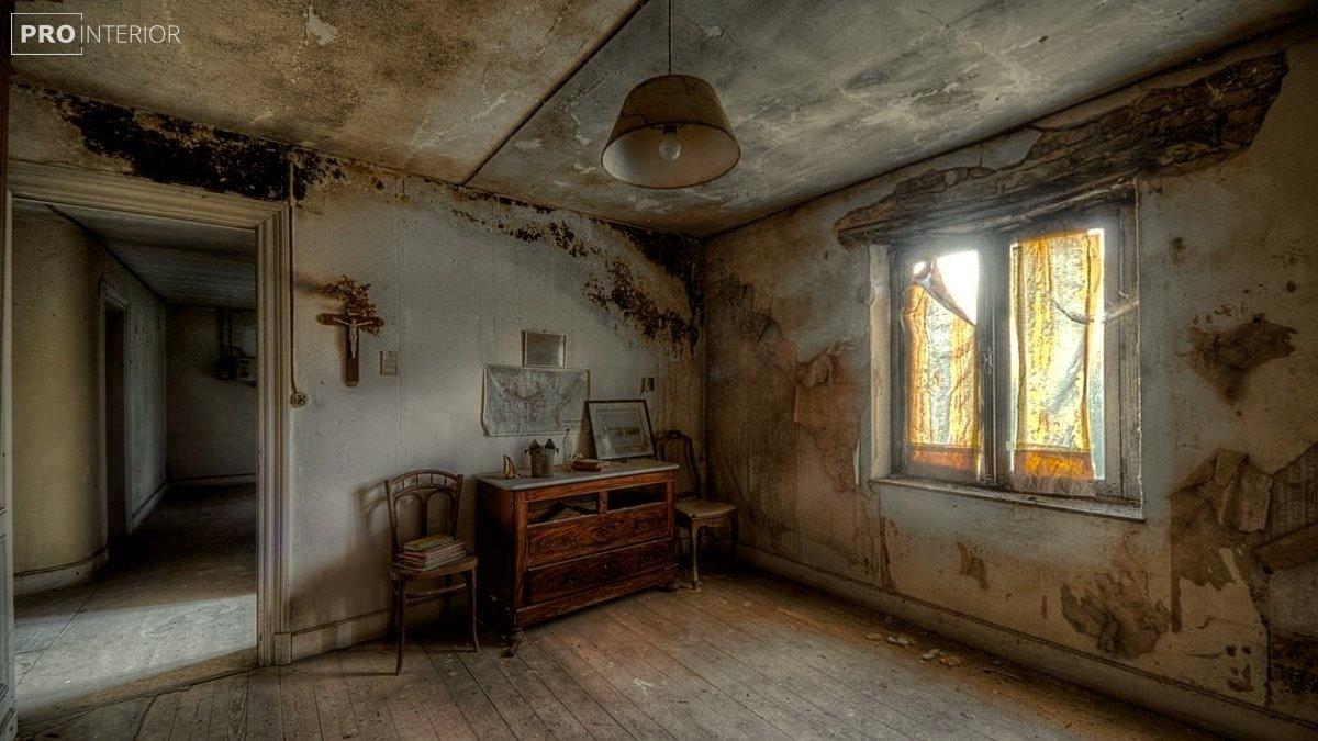 кімната без дизайну інтер'єру