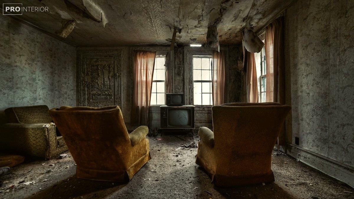 комната без ремонта