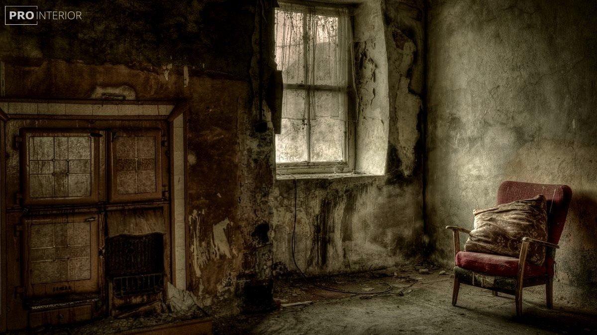 фото комнаты без ремонта