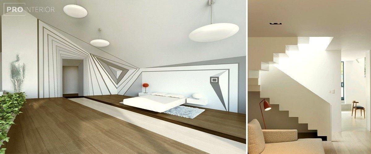 op-art interior