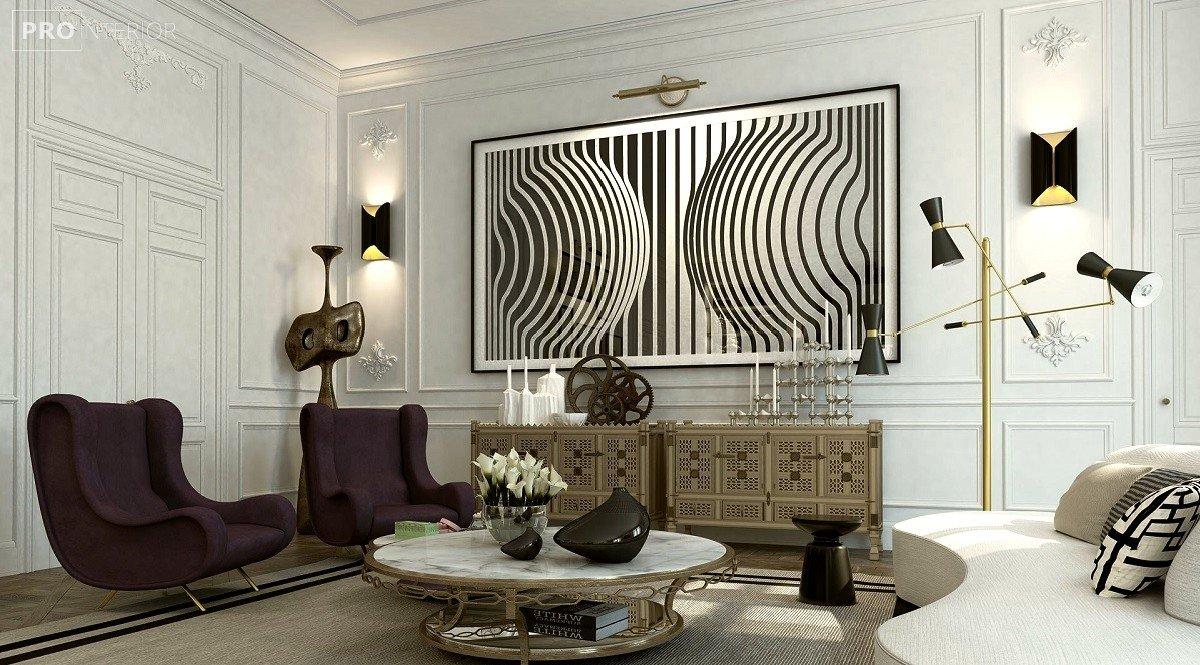 op-art interior photo
