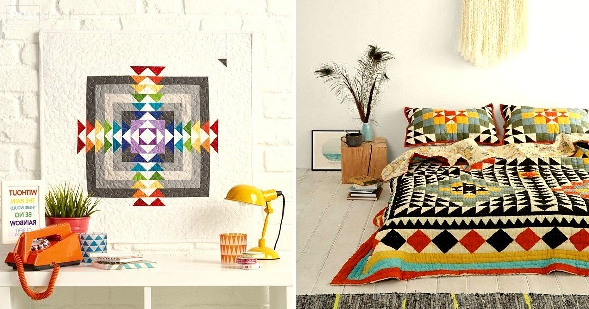 photo patchwork style in the interior