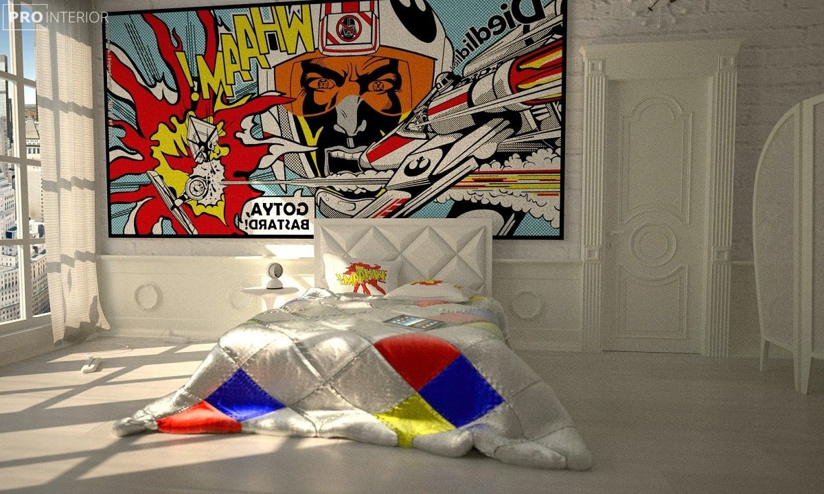 pop art in the interior