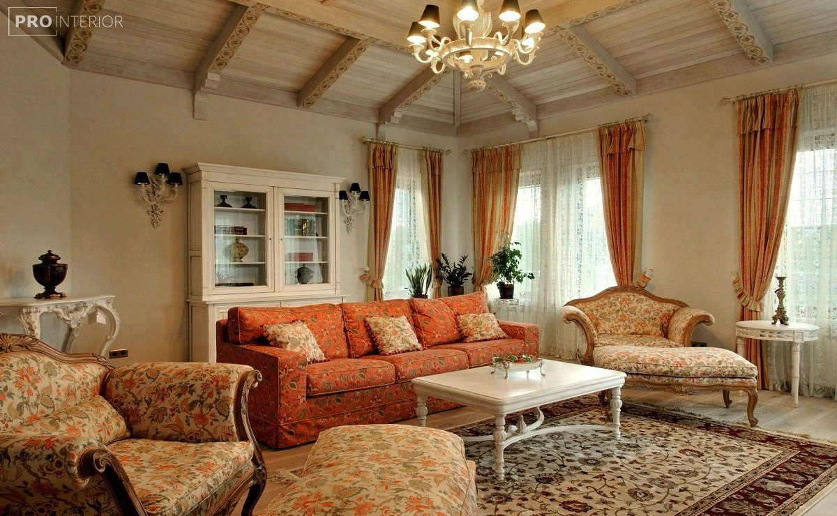 Provence style in interior photo