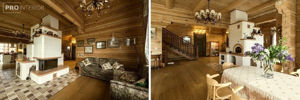interior in Russian style photo