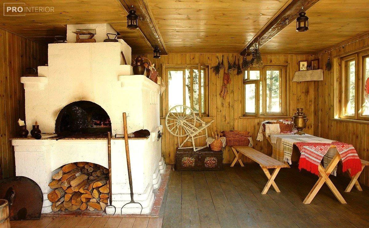 Russian style in interior photo
