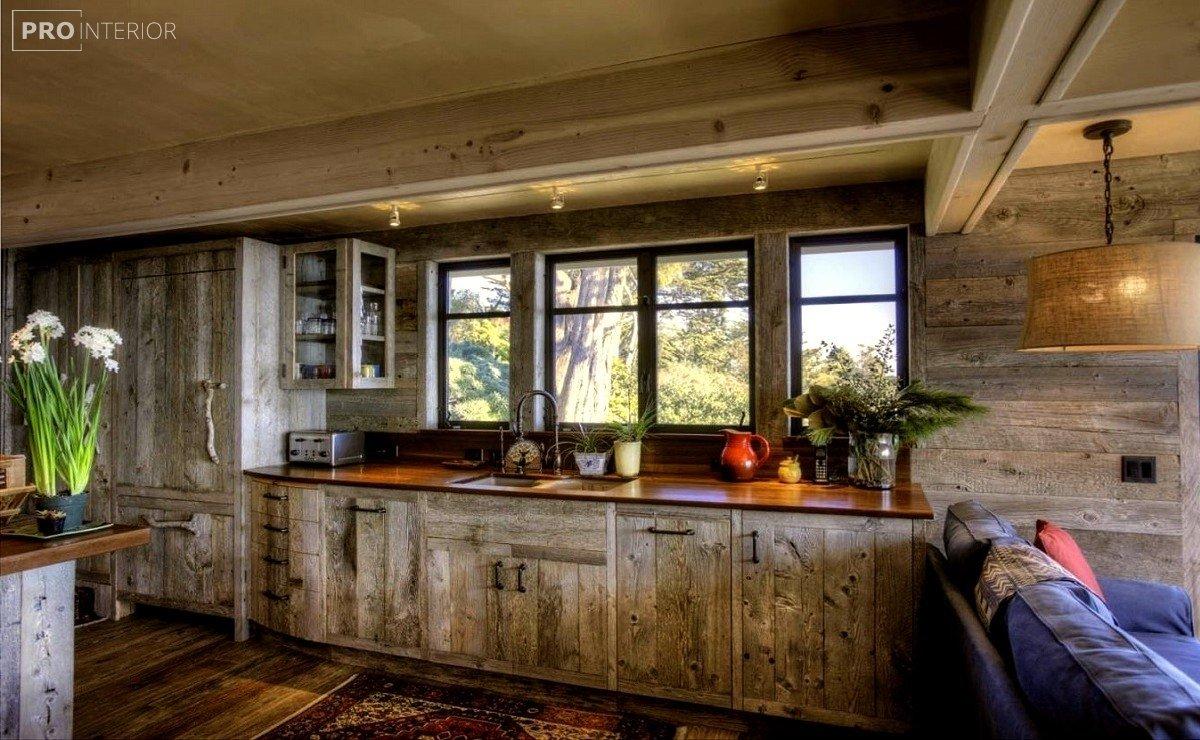 rustic interior design photo