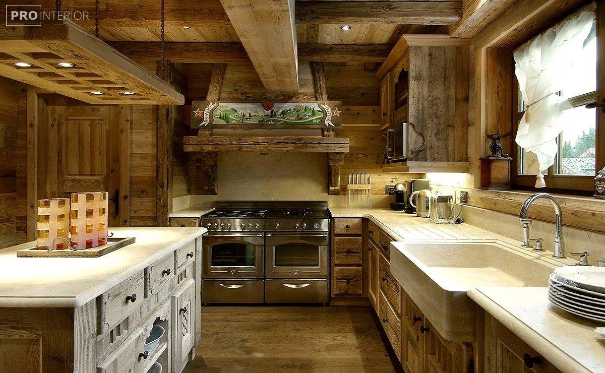 rustic interior photo