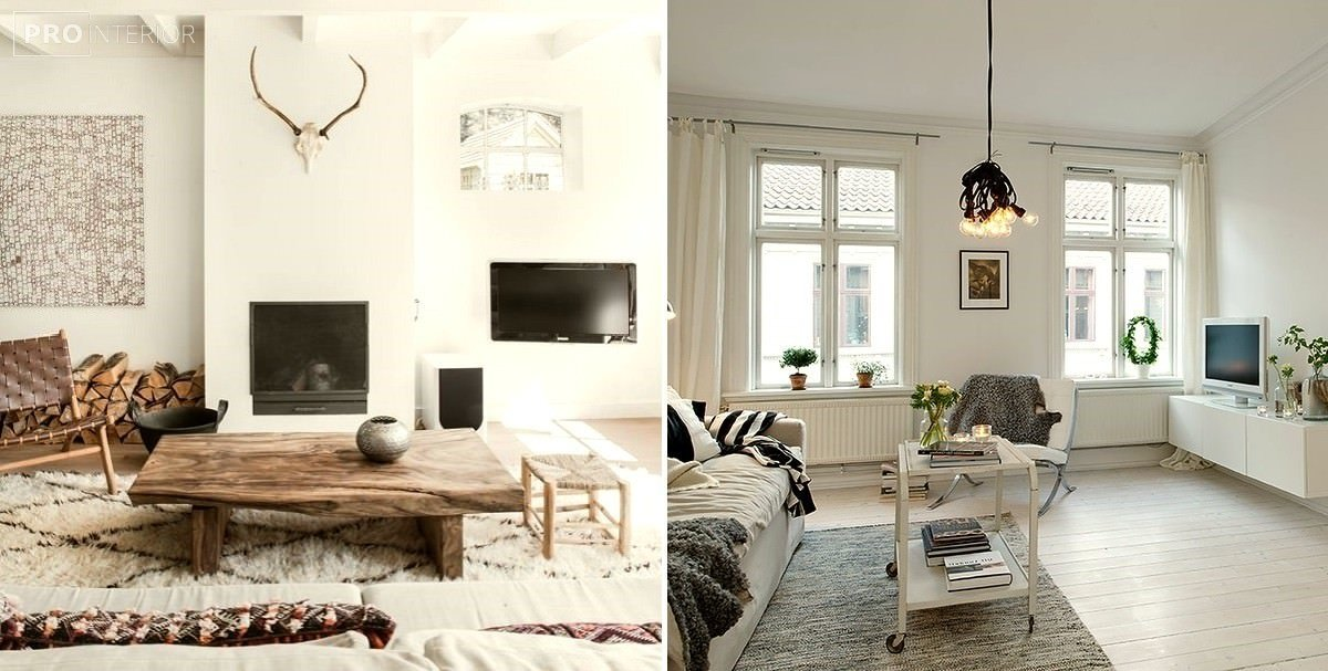 Scandinavian style in the interior