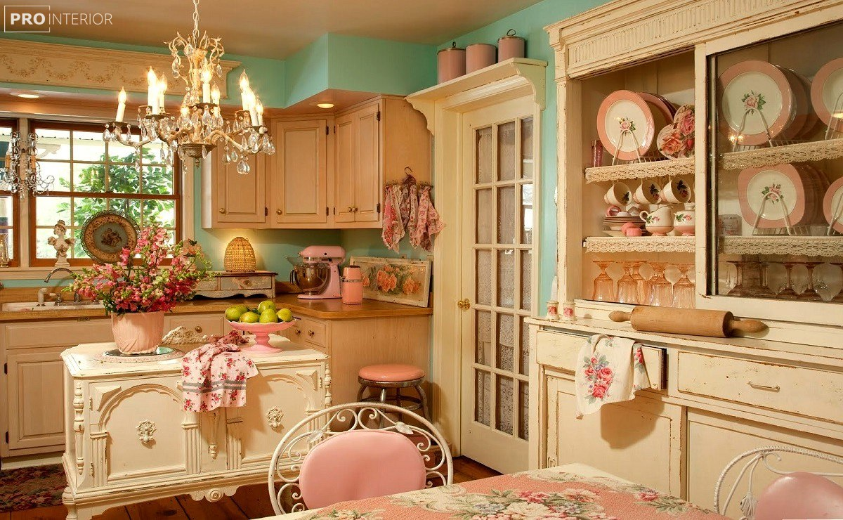 shabby chic in the interior