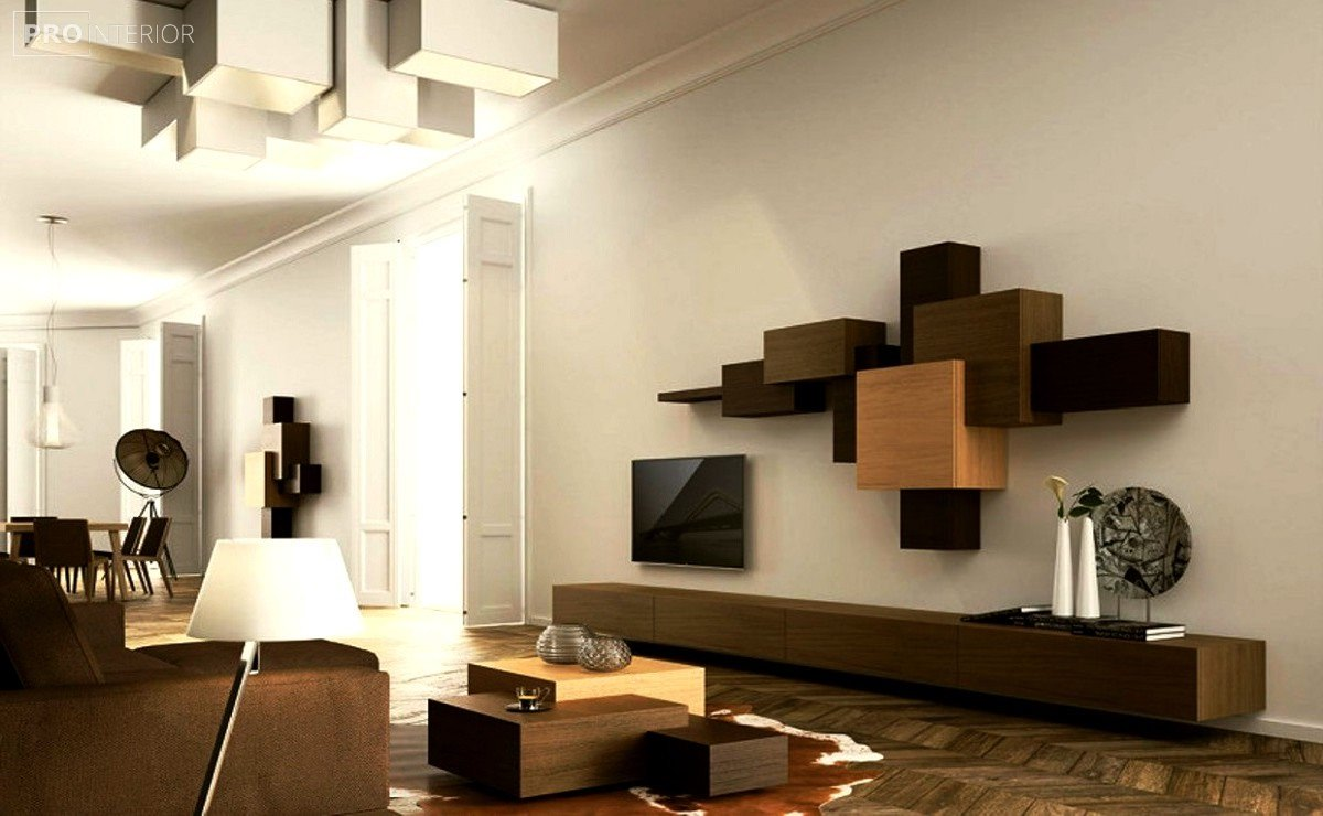 Suprematism in the interior