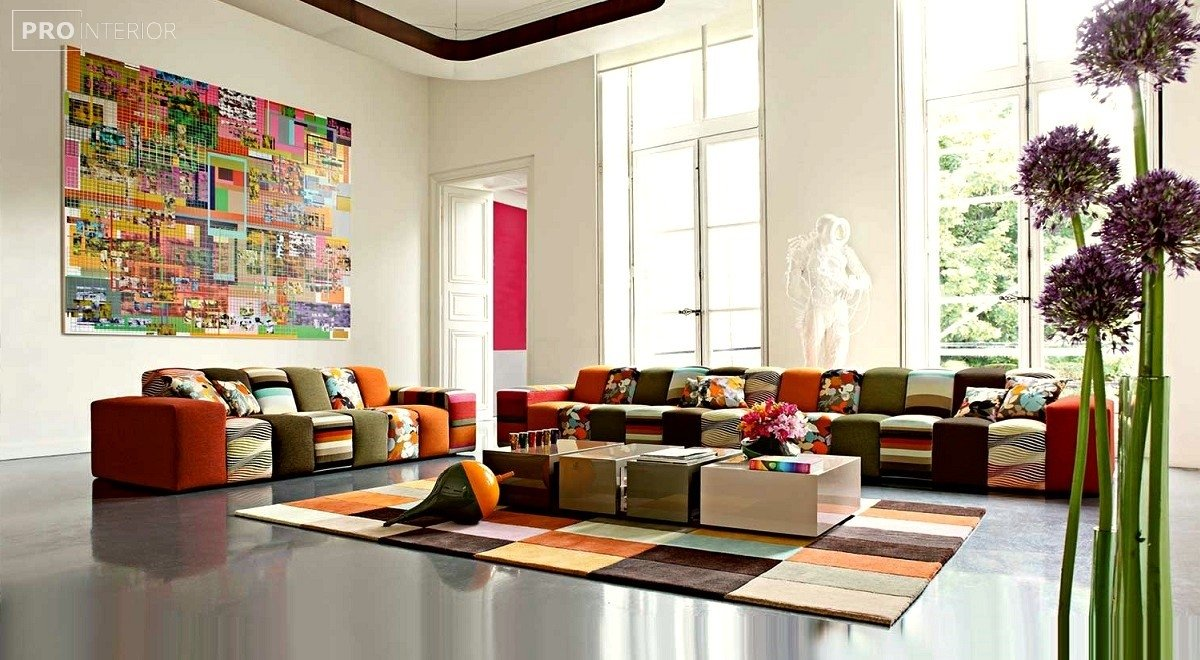 avant-garde style in the interior