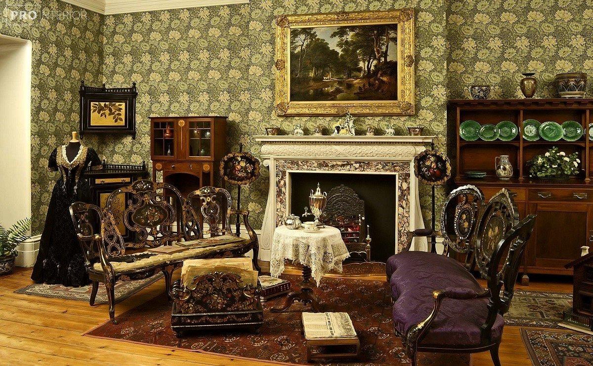 викторианский интерьер фото