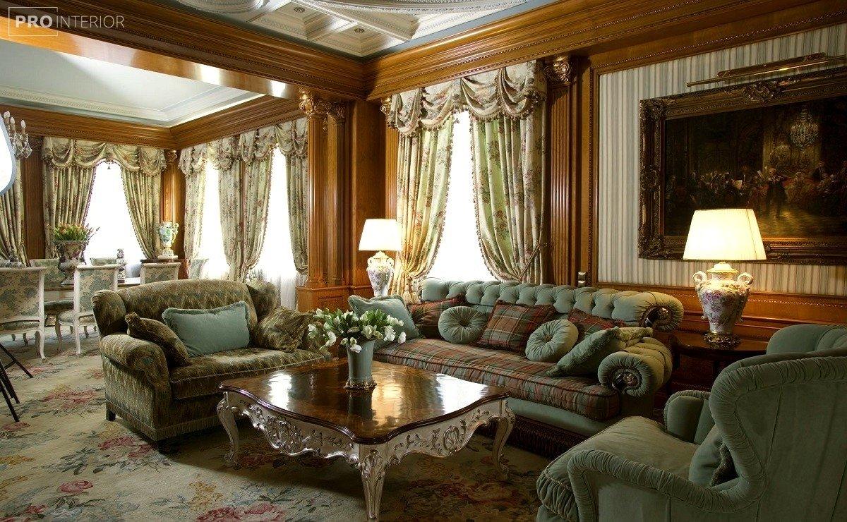 интерьер в викторианском стиле фото
