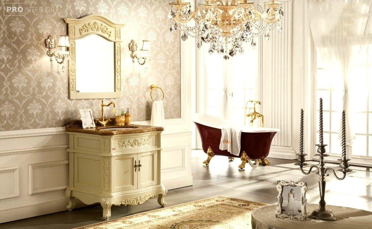 ванная в стиле викторианский