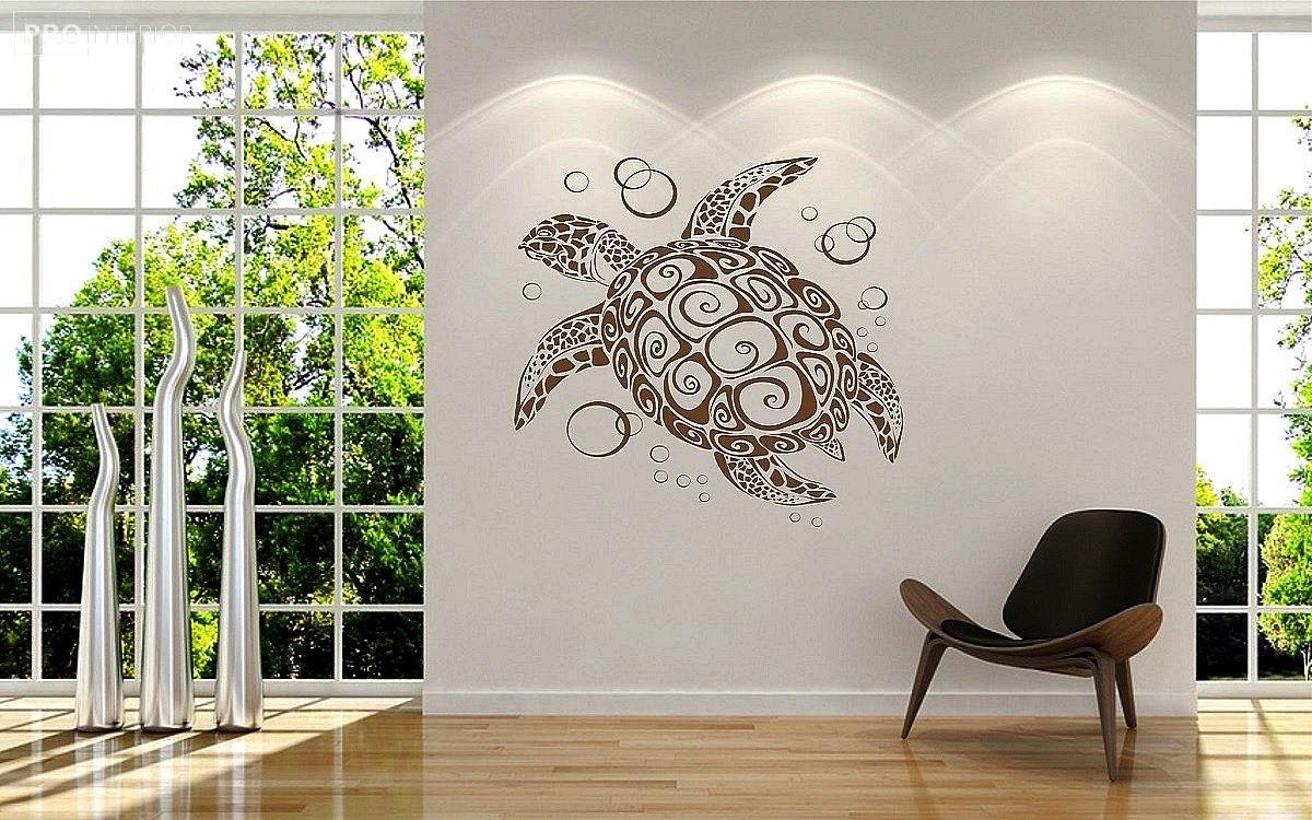 малюнки на стіні в будинку