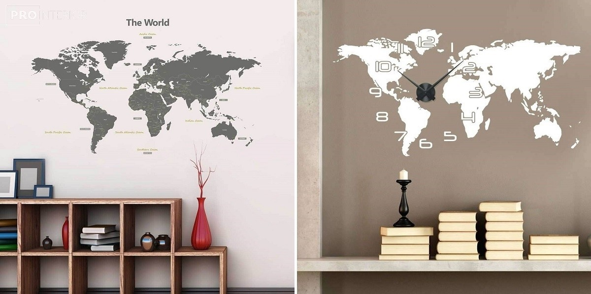 drawings on the bedroom wall